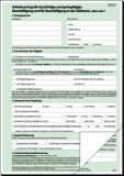 Arbeitsvertrag, für Mini-Jobs, A4, SD