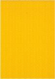 3D-Bastelwellpappe gelb