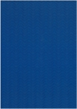 3D-Bastelwellpappe blau