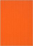 3D-Bastelwellpappe orange