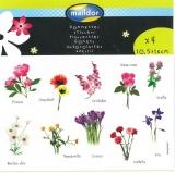 Etiketten Blumen