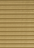 3D-Wellpappe goldfarbig