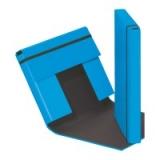 Heftbox m. Gummizug hellblau