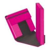Heftbox m. Gummizug pink