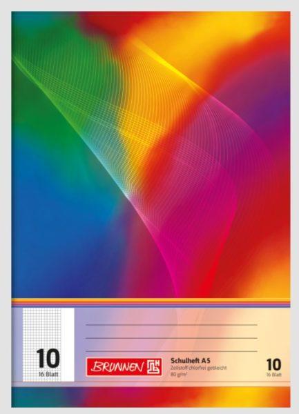 Schulheft A5 16Bl.TCF lin.10