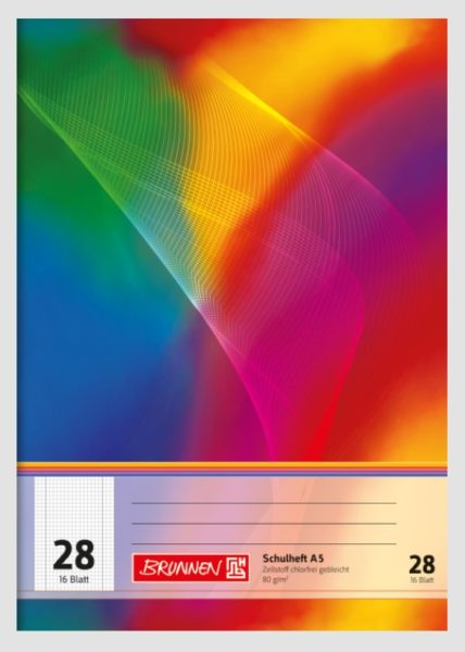 Schulheft A5 16Bl.TCF lin.28