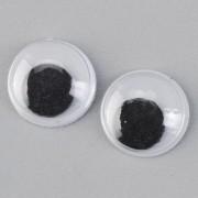 Plastik-Wackelaugen 10mm