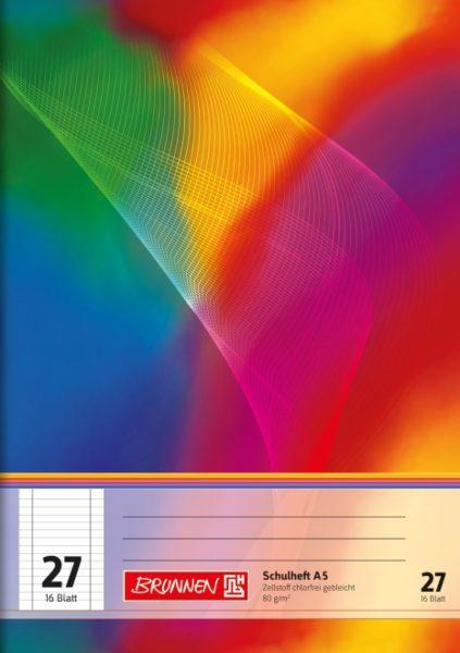 Schulheft A5 16Bl.TCF lin.27