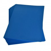 Moosgummi 20×30 cm, 2 mm, blau
