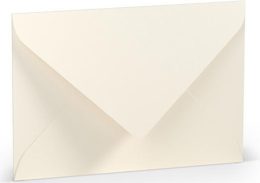 Briefumschlag Ft.B6 m. Sf., Ivory