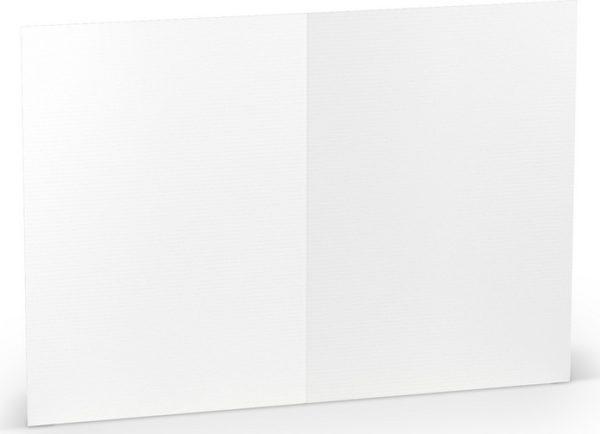 Karten B6 hd-Pl, Weiss