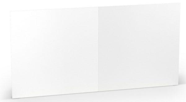 Karten 157 x 157 weiß