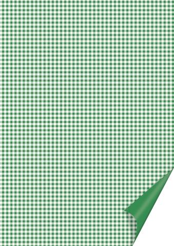 Motivkarton Karo grün