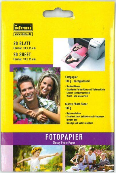 Fotopapier 10 x 15 cm