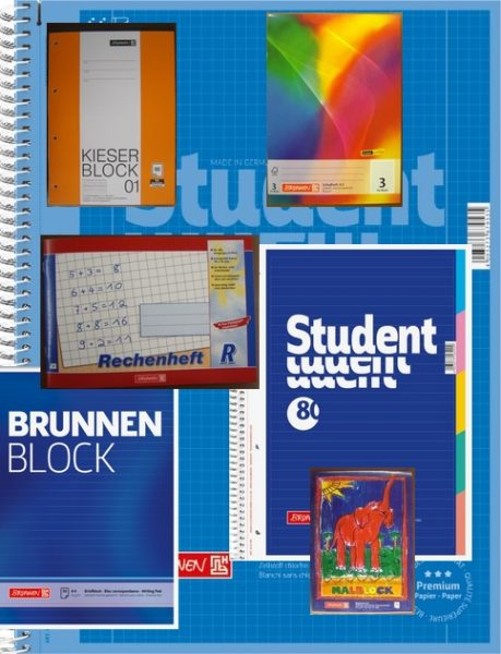 Blocks/Hefte/Kladden