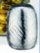 Polyband silber metallic