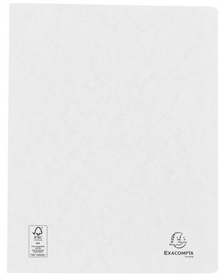 Schnellhefter Karton 265gr. A4 weiß