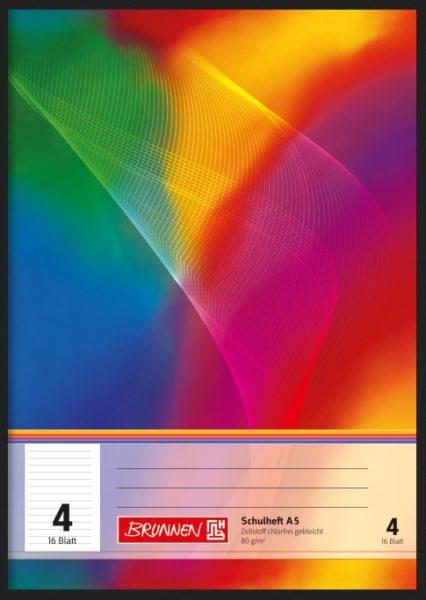 Schulheft A5 16Bl.TCF Lin.4