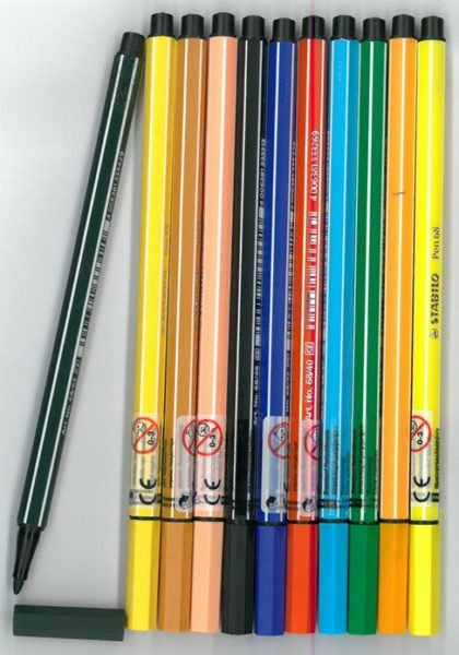 STABILO® pen 68 ocker dunkel