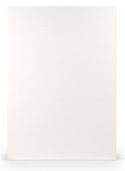 Paperado A4, 100 g/m², Rib Weiss