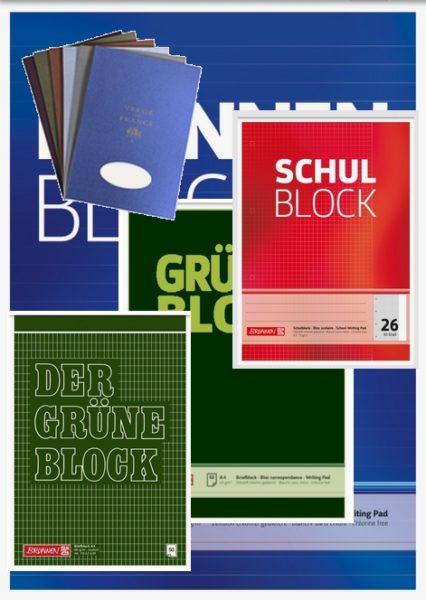 Schreibblock/Block