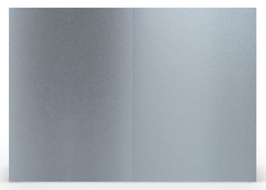 Karten B6 hd-pl, silberfarbig