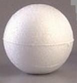 Styroporkugel 8 cm