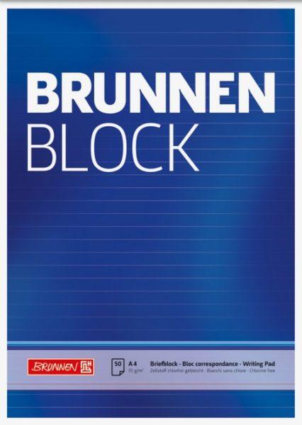 Briefblock A4 liniert