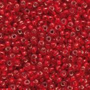 Indianerperlen 2,6 mm rot