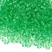 Indianerperlen 2,6 mm grasgrün