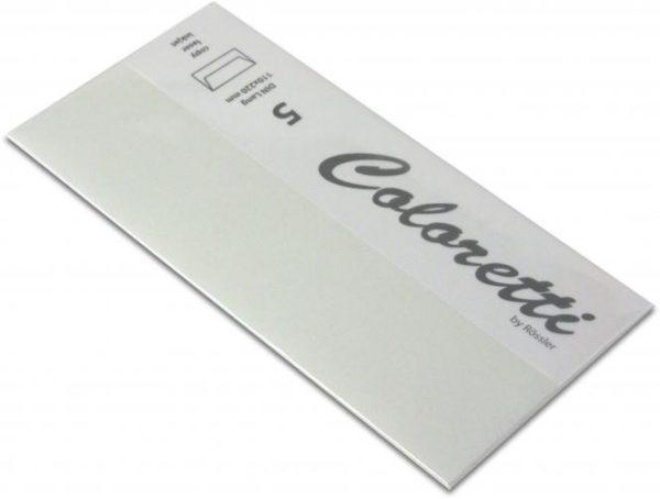Coloretti-5er Pack Briefumschläge DL 80g/m², grau