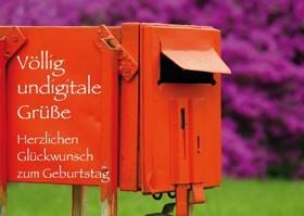 """Postkarte """"Geburtstag"""""""""""""""